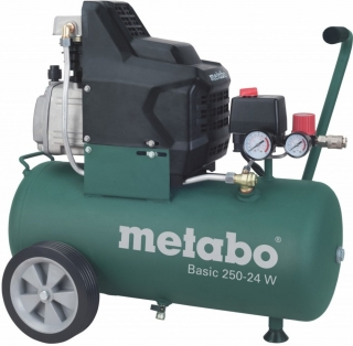 METABO - olejový kompresor Basic 250-24W, 601533000