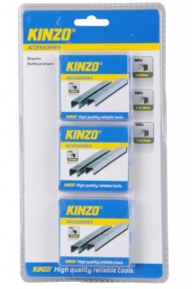 KINZO - set spon do sponkovačky - 3x50ks: 8,10,12 mm, 72181